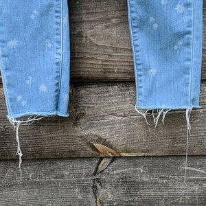 Levi's Jeans - Levi's 710 Super Skinny Light Wash Raw Hem Jean